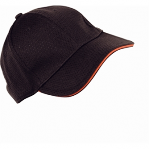 Colour by Chef Works Cool Vent Baseball Cap - Red