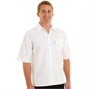Cool Vent Chefs Shirt - White