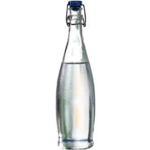 Glass Water Bottle 1 ltr (6pc)