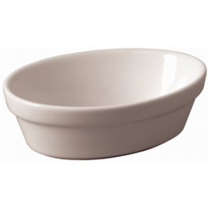 Olympia Whiteware Oval Pie Bowls 161mm (Box 6)