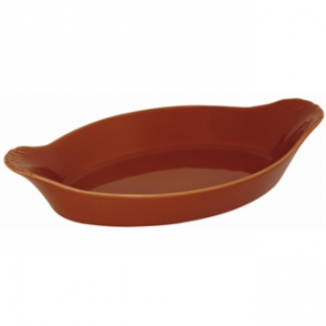 Olympia Mediterranean Oval Eared Dishes Rustic 204x 118mm (Box 6)