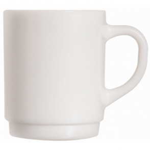 Arcoroc Opal Stackable Mugs 305ml (Box 6)