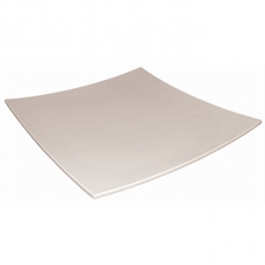 "Curved Square Melamine Plate 305mm (12"") (Sold Single)"