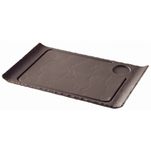 Revol Basalt Raised Steak Plates 390mm (Box 4)