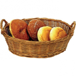 Willow Round Table Basket