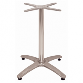 Table Base Bolero Aluminium Four Leg
