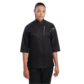 Chef Works Cool Vent Verona Womens Chefs Jacket Black
