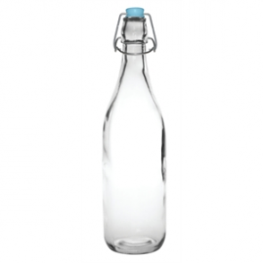 Olympia Glass Water Bottles 1Ltr (Pack of 6)