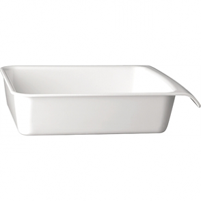 APS White 1/2GN Cascade Buffet Bowl