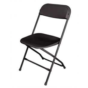 Folding Chair Black (Pack of 10)