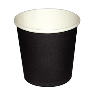 Fiesta Disposable Espresso Cups Black 112ml / 4oz x 50
