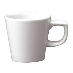White Cafe Cups 115ml (Box 24)
