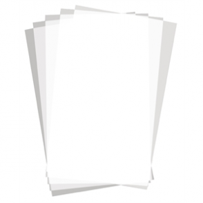 Greaseproof Paper Squares - Plain Print (Box 500)