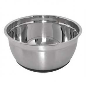 Vogue Stainless Steel Bowl with Silicone Base 3Ltr