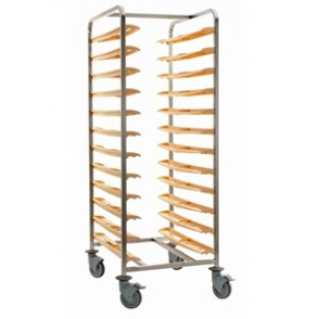 Bourgeat Self Clearing Cafeteria Trolley 24 Trays