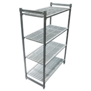Cambro Stationary Vented 4 Shelving Units 1830 x 1220 x 460mm