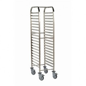Bourgeat Full Gastronorm Racking Trolley 20 Shelves