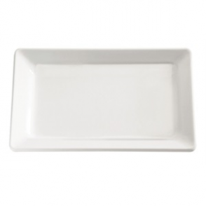 APS Pure White Melamine Tray 2/4GN
