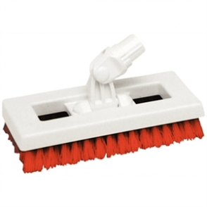 SYR Deck Scrubber Brush Red