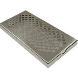 """Stainless Steel Beer Drip Tray 24"""" x 8"""""""