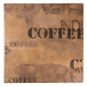 Werzalit Square Table Top Coffee Sack 600mm