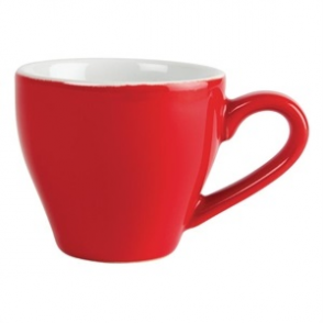 Olympia Café Espresso Cups Red 100ml 3.5oz (12pp)