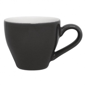 Olympia Café Espresso Cups Charcoal 100ml 3.5oz (12pp)