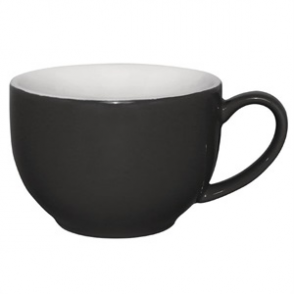 Olympia Café Cappuccino Cups Charcoal 340ml 12oz (12pp)