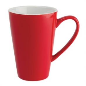 Olympia Café Latte Cups Red 454ml 16oz (12pp)
