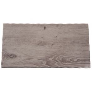 APS Wood Effect Melamine Tray GN 1/3