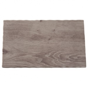 APS Wood Effect Melamine Tray GN 1/4
