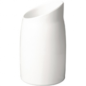 APS Casual Dressing Pot Melamine White 1Ltr
