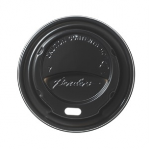 Barrier Hot Cup Domed Sip Lid Black 8/9/10oz (box 1000)