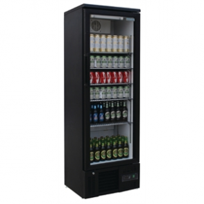 Polar Upright Back Bar Cooler with Hinged Door 307Ltr
