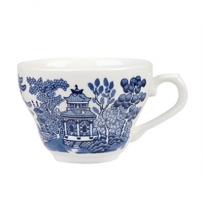 Churchill Vintage Prints Willow Georgian Teacup Blue 200ml (12pp)