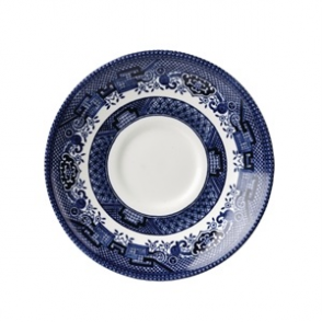 Churchill Vintage Prints Willow Georgian Saucer Blue 141mm (12pp)