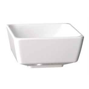 APS Float White Square Bowl 2in