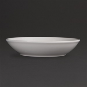 Olympia Whiteware Deep Plates 200mm