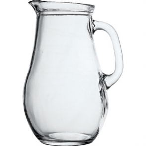Bistro Glass Jug 1 ltr (6pc)