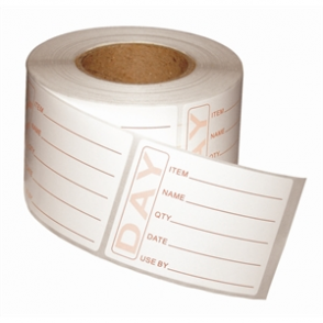 Prepped Product Labels (500 per roll)