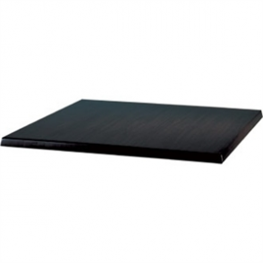 Werzalit 600mm Black Square Table Top
