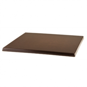 Werzalit 600mm Wenge Square Table Top