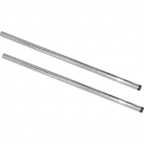 Vogue Chrome Upright Post 660mm (Pack 2)