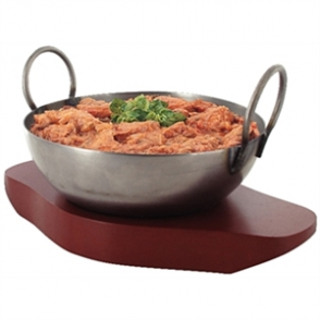 Olympia Wrought Iron Karahi Dish 150mm