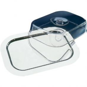 Rectangular Tray With Cover