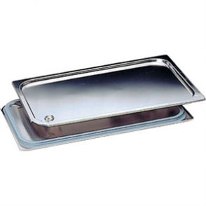 Bourgeat Stainless Steel Spill Proof 1/2 Gastronorm Lid