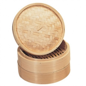 Vogue Bamboo Food Steamer 203mm