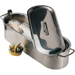 "Fish Kettle 18"". Stainless steel"