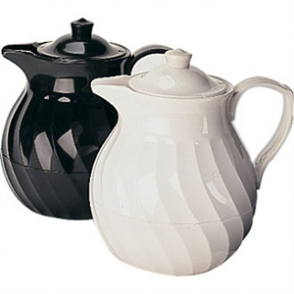 Insulated Tea Pot - Black 1 Ltr/35oz