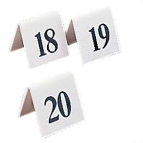 Plastic Table Numbers 1-10